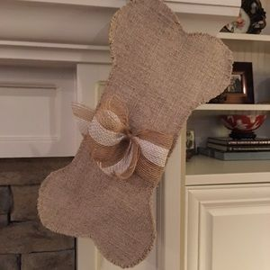 Christmas stocking for dog